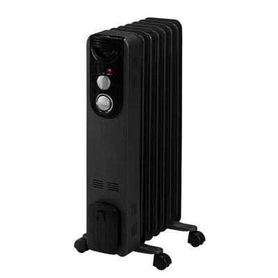 600-Watt Convection Electric Oil-Filled Radiant Portable Heater